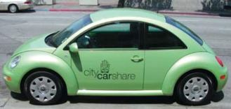 Local investment in carshare services to reduce parking requirements