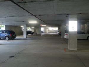 empty parking garage 2